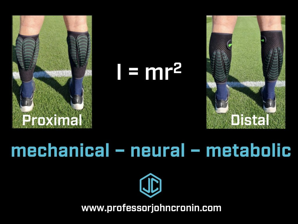 Pic of limb increased the mechanical overload by increasing rotational inertia of the limb